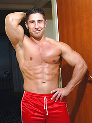 Amateur shooting of hot muscled dude - Gay porn pics at GayStick.com
