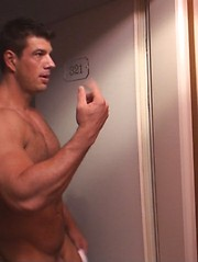 Amateur hairy hunk pickuped by muscle star Zeb Atlas - Gay porn pics at GayStick.com