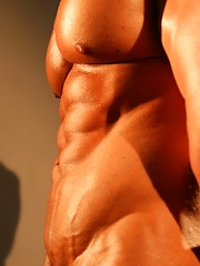 Tanned and muscled man body - Gay porn pics at GayStick.com