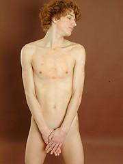 Alex - Smooth redhead twink posing - Gay porn pics at GayStick.com