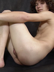 Werty - skinny long haired twink - Gay porn pics at GayStick.com