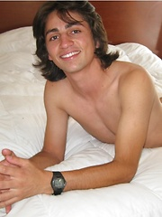 Miamy boy Ciro grabs own dick - Gay porn pics at GayStick.com