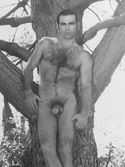 Retro shoots of hairy gay dude - Gay porn pics at GayStick.com
