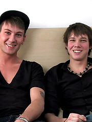 Ashton Hardwell and Justin Lebeau