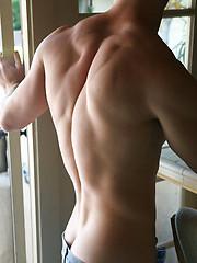 Innocent stud Shay posing naked - Gay porn pics at GayStick.com