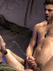 Steve Stavrou is the perfect submissive, on his... - Gay porn pics at GayStick.com