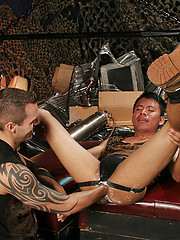Asian bottom gets fisted by Andre - Gay porn pics at GayStick.com