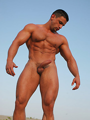 Macho Nacho have a good time for himself! - Gay porn pics at GayStick.com