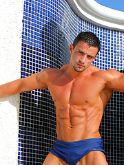 Hot muscle latin hunk Macho Nacho