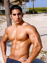 Cody Miller posing