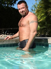 Marc Angelo big muscled bear - Gay porn pics at GayStick.com