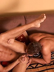 Naughty euro studs play outdoor oral games - Gay porn pics at GayStick.com