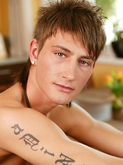 Slim twink boy shows his perfect small butt - Gay porn pics at GayStick.com