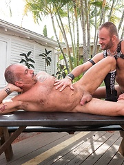Jay Ricci and Bruce Bacch - Gay porn pics at GayStick.com