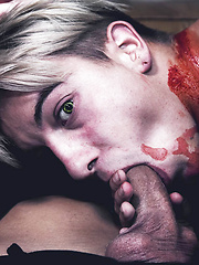 Fucked by Vampires for Halloween - Gay porn pics at Gaystick