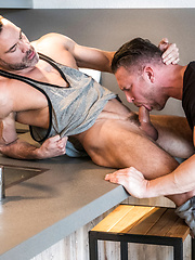 TOMAS BRAND AND MANUEL SKYE SWALLOW EACH OTHER'S UNCUT COCKS - Gay porn pics at Gaystick