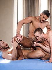 BROCK MAGNUS, DIEGO LAUZEN, AND JACKSON RADIZ FLIP-FUCK - Gay porn pics at Gaystick