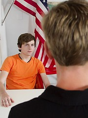 Dallas and Kurt take turns getting a taste of School Master heavy handed discipline - Gay porn pics at GayStick.com