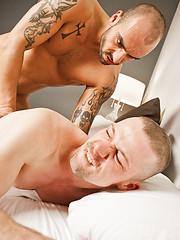 Johnny Venture Drills Ryan Russells Hole - Gay porn pics at GayStick.com