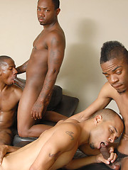 Group of thugs gang one lucky boy - Gay porn pics at GayStick.com