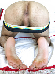 Pretty alternative boy Joseph needed at least one finger in his ass - Gay porn pics at GayStick.com