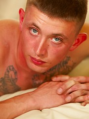 Cam is a cute new Active Duty recruit and he is ready for solo scene - Gay porn pics at GayStick.com