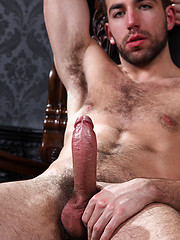 Guy stuffs his big, 8 inches uncut cock into the handsome, young mans gut - Gay porn pics at GayStick.com