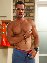 Jules Cage is a hot, hung man with a great smile