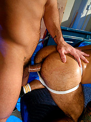 The irresistable Damien Crosse takes on Steve Cruzs dick - Gay porn pics at GayStick.com