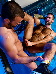 The irresistable Damien Crosse takes on Steve Cruzs dick