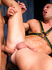 Fisting and toying action between two dirty guys Franco Ferarri and JR Bronson - Gay porn pics at GayStick.com