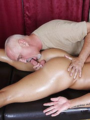 Jake sucks Noah Greene oiled cock - Gay porn pics at GayStick.com