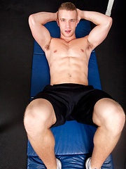 Diego Sans, Jake Andrews and Jordan Levine were trying to get a sex workout - Gay porn pics at GayStick.com