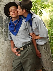 Two scout boys fucking near the camp - Gay porn pics at GayStick.com