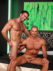 Muscle hunks Jake Genesis and Marcelo Montero fucking - Gay porn pics at GayStick.com
