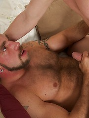 Johnny Parker and Ridge Michaels hardcore scene - Gay porn pics at GayStick.com