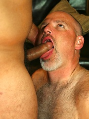 Trevor bends Knotty Cub over and does what he does best, fuck a hot ass - Gay porn pics at GayStick.com