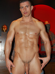 Muscle-god Hungarian newcomer Rob Nelson in a sensual versatile fuck galore