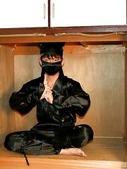 Ninja Cum Mission - Gay porn pics at GayStick.com