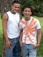 These two tribal twinks are fucking hard - Gay porn pics at GayStick.com