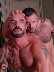 Bruno Knight and Samson Stone - Gay porn pics at GayStick.com