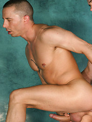 Gay studs have wild anal sex