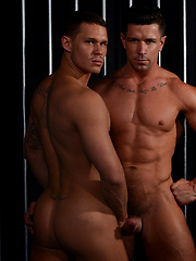 Couple of gay pornstars Trenton Ducati and Tate Ryder - Gay porn pics at GayStick.com