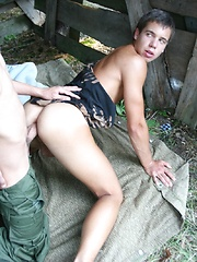 A deep and raw fucking between gay boys - Gay porn pics at GayStick.com
