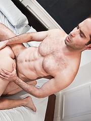 Michael Lucas breaks in Grayson Palmer - Gay porn pics at GayStick.com