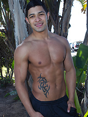 Ari is 22 and single and he says he wants to keep it that way - Gay porn pics at GayStick.com