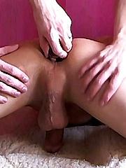 Tight emo boy ass tastes cucumber - Gay porn pics at GayStick.com