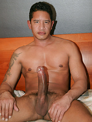 Here is Ricky Benitez who has a 12 inch dick that will wreck your holes off