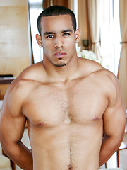 21 year old Cuban Joey gets to show his body naked as he tease on cam - Gay porn pics at GayStick.com