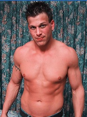Oz then treats us to a shower and a body that is perfect in every way - Gay porn pics at GayStick.com